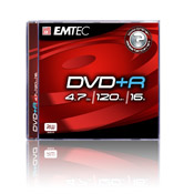 DVD+R 4.7GB - For General Use