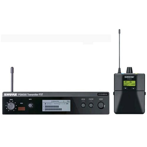 PSM 300 Stereo UHF In Ear Monitor System with P3RA receiver