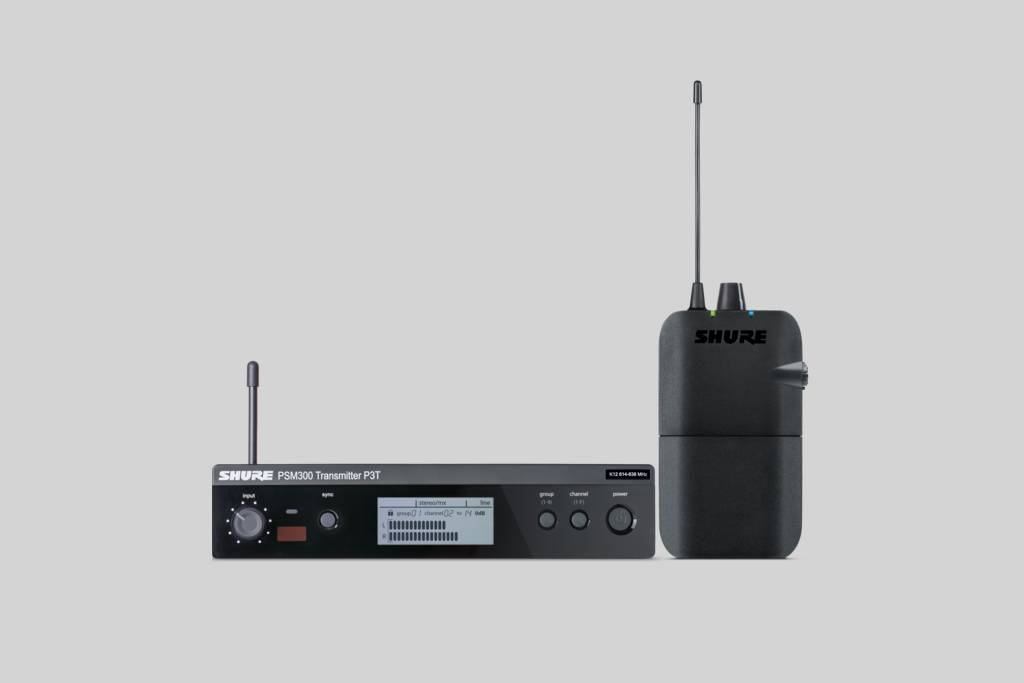 PSM 300 Stereo UHF In Ear Monitor System with P3R receiver