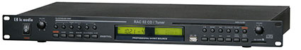 RAC 02 with CD-MP3 and Tuner-module