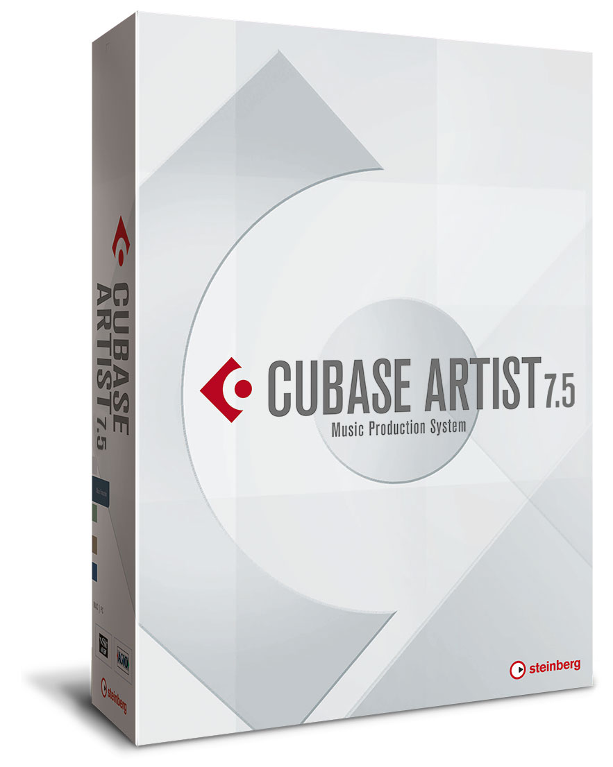 Cubase Artist 7.5 (free to v. 10.5) UG1 from Cubase Elements & Essential