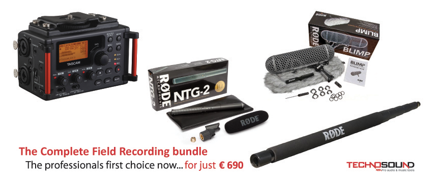 Field Recording Bundle