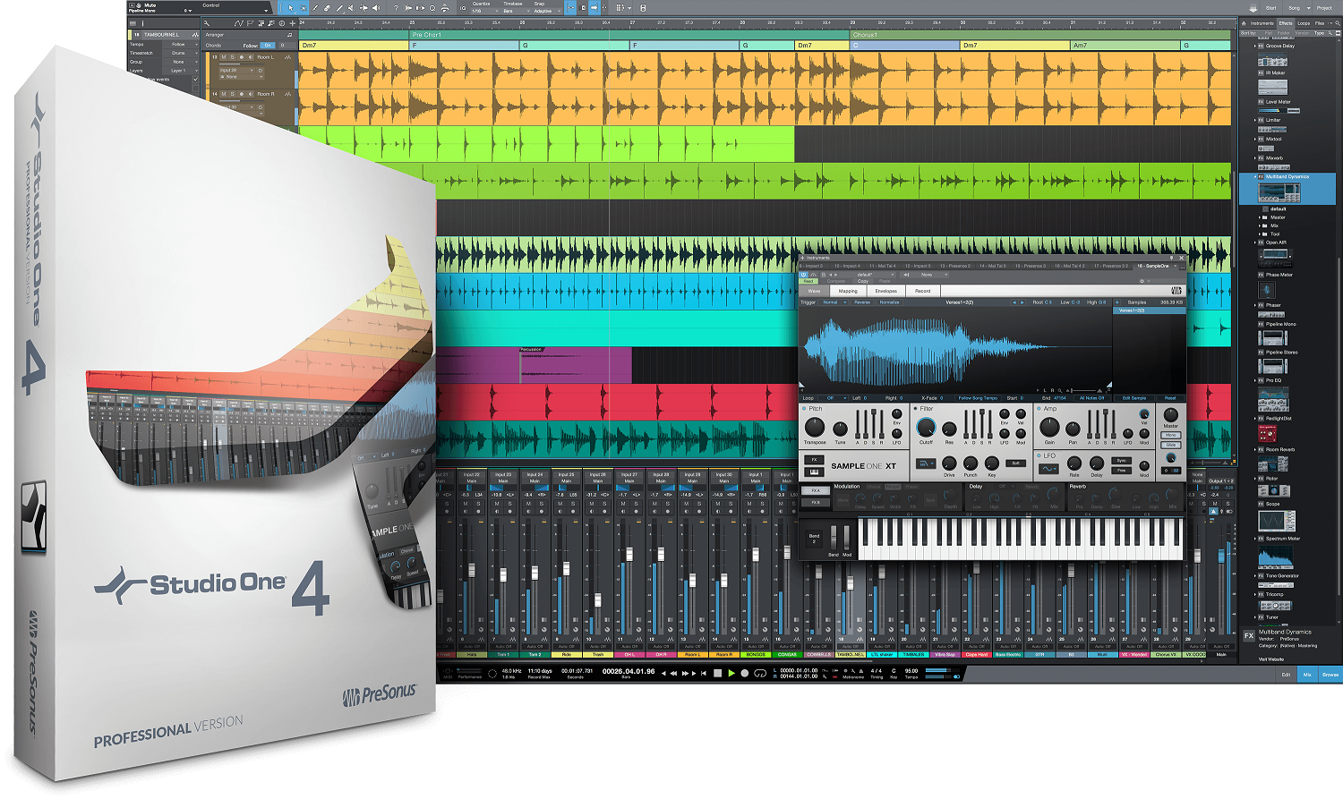 Studio One 4.5 Pro + Notion Bundle