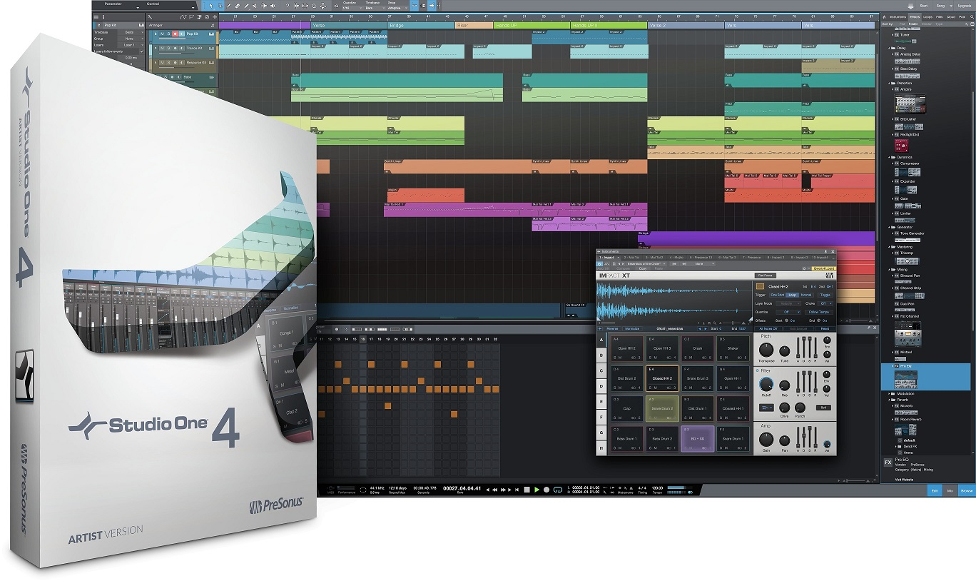Studio One 4.5 Artist Upgrade from Artist (any version)