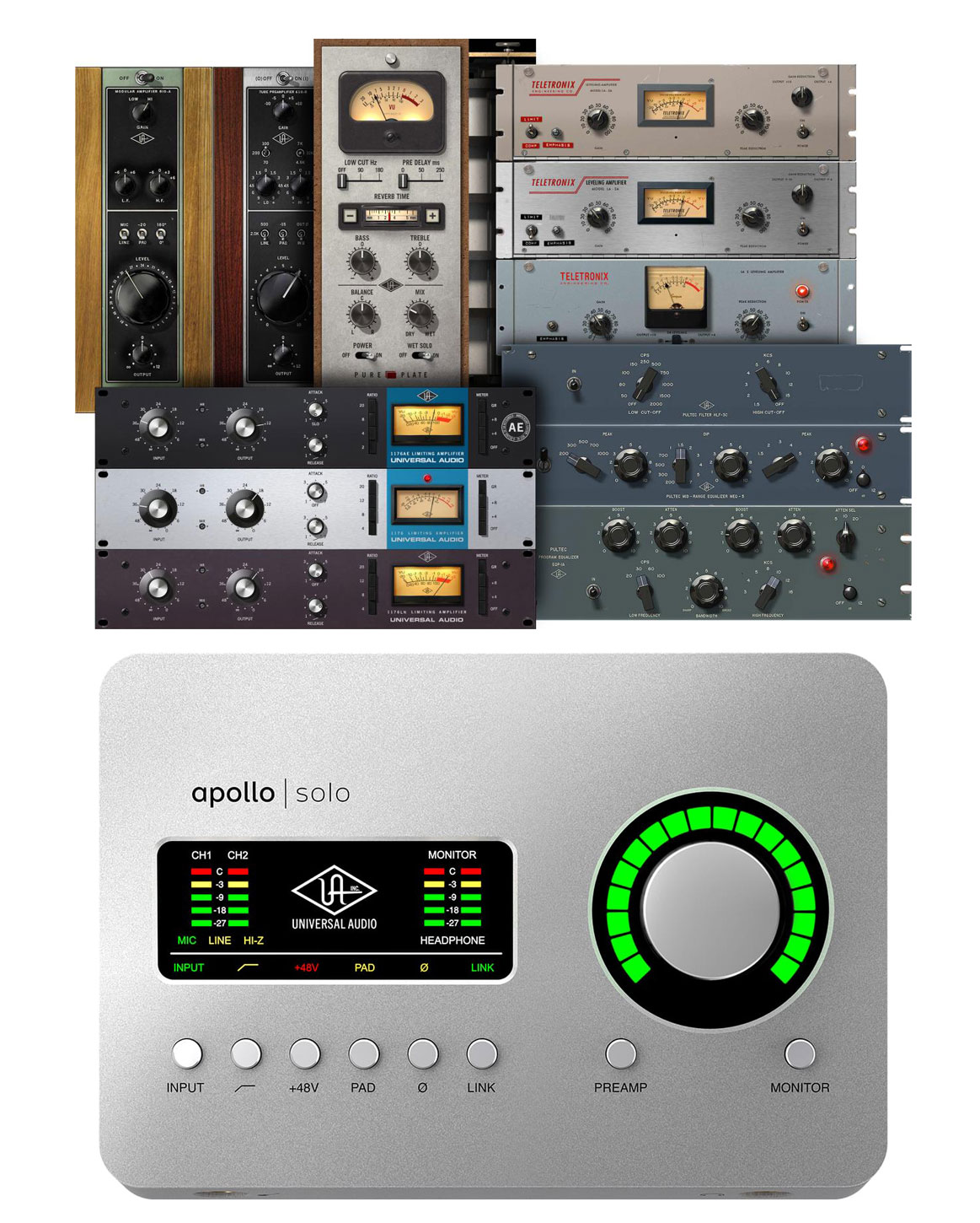 Audio Interfaces Thurderbolt